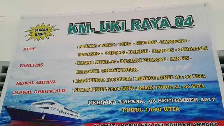 NEW ferry KM. Uki Raya