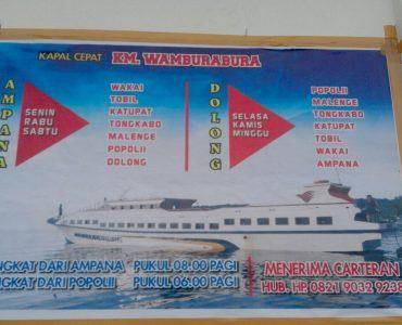 NEW schedule of KM. Wamburabura